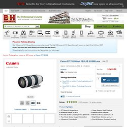 Canon EF 70-200mm f/2.8L IS USM II Zoom 2751B002