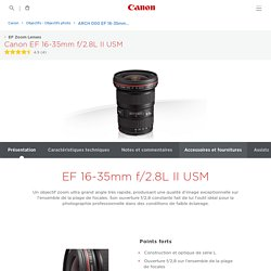 EF 16-35mm f2.8L II USM Zooms