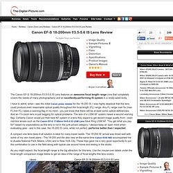 Canon EF-S 18-200mm f/3.5-5.6 IS Lens Review