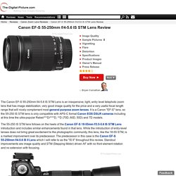 Canon EF-S 55-250mm f/4-5.6 IS STM Lens Review