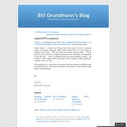 Bill Grundmann's Blog