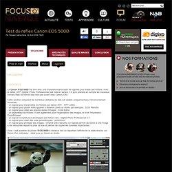 Canon EOS 500D test : les logiciels