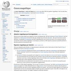 Canon magnétique