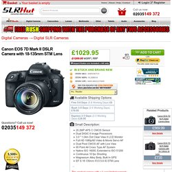 Canon EOS 7D Mark II DSLR Camera with 18-135mm STM Lens - SlrHut.co.uk