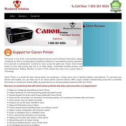 Need help? why don't you call at canon technical support number 1-806-576-2614
