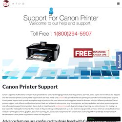 Canon Printer support Toll Free 1-800-294-5907