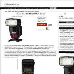 Canon Speedlite 430EX II Flash Review