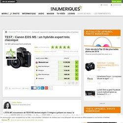Canon Canon EOS M5 : Test complet - Les Numériques