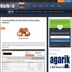 Canonical libère le code d'Ubuntu One (partie serveur)
