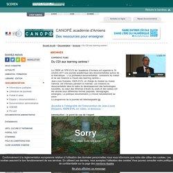 J-L Durpaire : Le professeur-documentaliste : évolutions du métier et de ses missions à l'heure du Learning centre (19/10/2011)