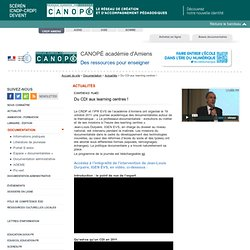 CRDP-Académie d'Amiens
