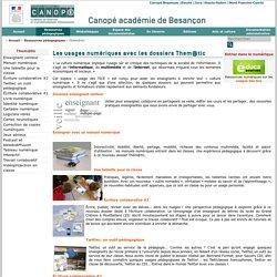 Canopé académie de Besançon : Them@tic