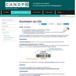Canopé Créteil - Equipement des CDI