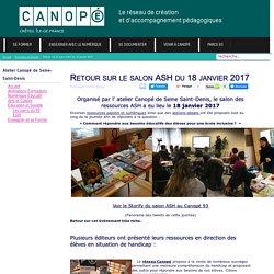 #AnimCanope93 Le salon ASH du 18 janvier 2017