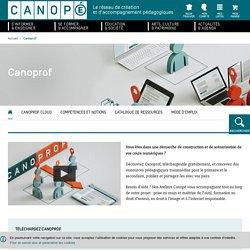 Préparez ses cours avec Canoprof