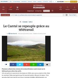 Emploi : Le Cantal se repeuple grâce au télétravail