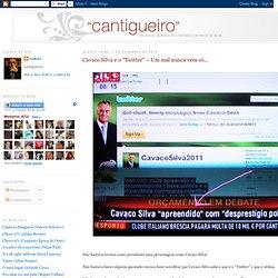 """Cavaco Silva e o """"Twitter"""" – Um mal nunca vem só..."""