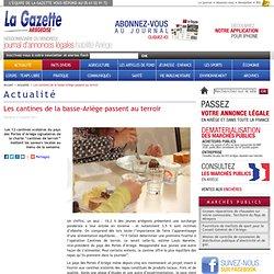 Les cantines de la basse-Ariège passent au terroir