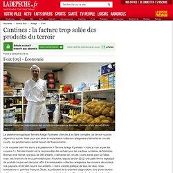 LA DEPECHE 26/06/12 Cantines : la facture trop salée des produits du terroir