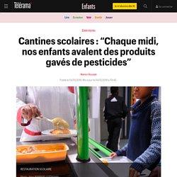 """Cantines scolaires : """"Chaque midi, nos enfants avalent des produits gavés de pesticides"""" - Enfants"""
