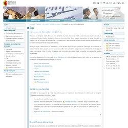 Office cantonal de l'emploi - organigramme