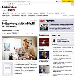 Petit guide du parfait candidat FN aux cantonales
