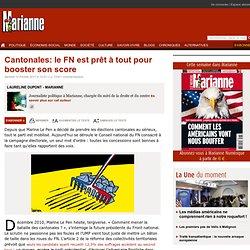 Cantonales: le FN est prêt à tout pour booster son score