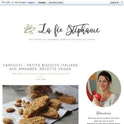 Cantucci - petits biscuits italiens aux amandes, recette vegan