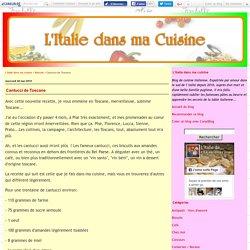 Cantucci de Toscane