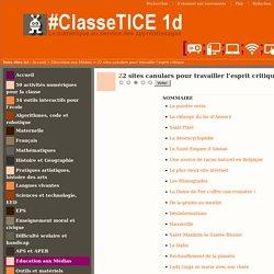 22 sites canulars pour travailler l'esprit critique