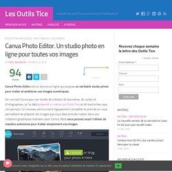 Canva Photo Editor. Un studio photo en ligne pour toutes vos images
