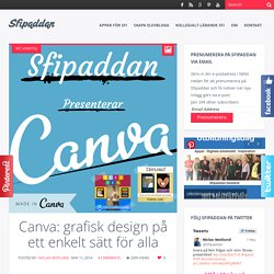 Canva: grafisk design på ett enkelt sätt för alla