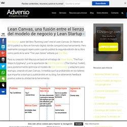 Lean Canvas, una fusión entre el lienzo del modelo de negocio y Lean Startup - Advenio