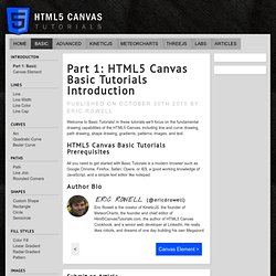 HTML5 Canvas Basic Tutorials Introduction