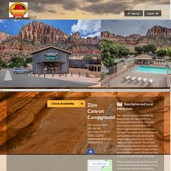 Zion Canyon Campground - Online Reservations