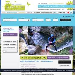 Week end Canyoning - Canyoning et descente de Canyon Tourrettes sur Loup