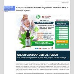 Canzana CBD Oil UK UK