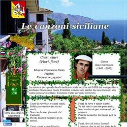 Canzoni Siciliane - Ciuri, ciuri