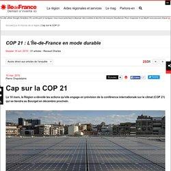 Cap sur la COP 21
