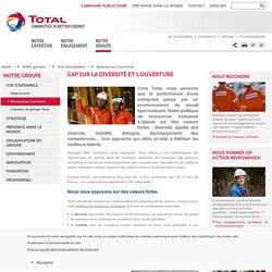Notre politique de ressources humaines – total.com