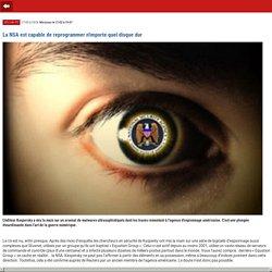 La NSA est capable de reprogrammer n'importe quel disque dur- m.01net.com
