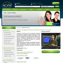 Pedagogia Empresarial e Educação Corporativa . B. de Mauá