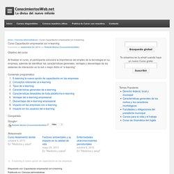 Curso Capacitación empresarial con e-learning