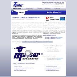 :MasterClass es un Centro de Capacitación Profesional en Diseño Gráfico, Web, 3D y Postproducción: