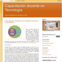 Capacitación docente en Tecnología: Cómo aprender - Desarrollo, uso y aplicación de PLEs en el aula PARTE 1