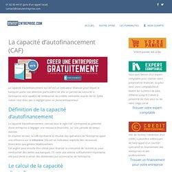 La capacité d'autofinancement (CAF) - Le business plan