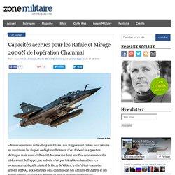 Capacités accrues pour les Rafale et Mirage 2000N de l'opération Chammal