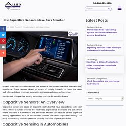 How Capacitive Sensors Make Cars Smarter