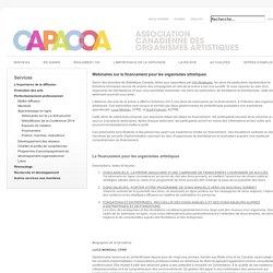 CAPACOA - Fundraising