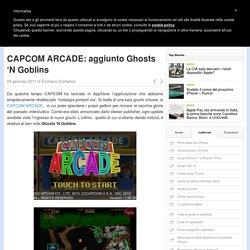 CAPCOM ARCADE: aggiunto Ghosts 'N Goblins